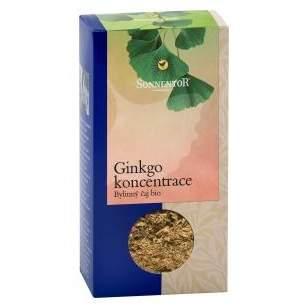 Ginkgo - bylinný sypaný čaj BIO 50g Sonnentor