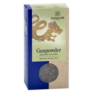 Gunpowder - zelený sypaný čaj BIO 100g Sonnentor
