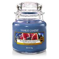 Svíčka YANKEE CANDLE 104g Mulberry & Fig Delight