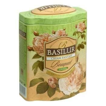 Čaj Basilur Bouquet Cream Fantasy dóza 100g