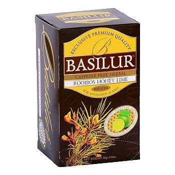 Čaj Basilur Rooibos Honey Lime 20x1,5g