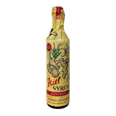 Likér bylinný Kitl SYROB ZÁZVOROVÝ 500 ml