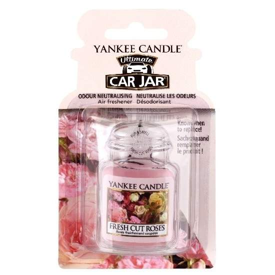 Gelová visačka YANKEE CANDLE Fresh cut roses