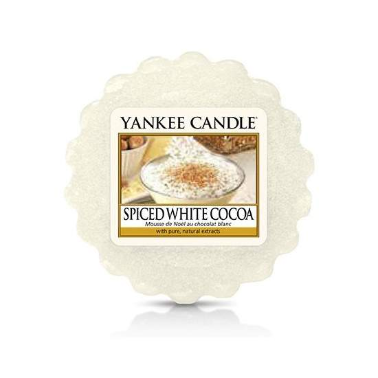Vosk YANKEE CANDLE 22g Spice White Cocoa