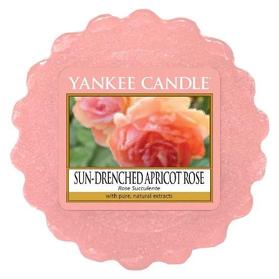 Vosk YANKEE CANDLE 22g Sun-Drenched Apricot Rose