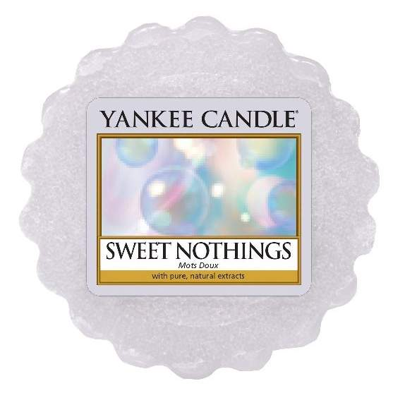 Vosk YANKEE CANDLE 22g Sweet Nothings