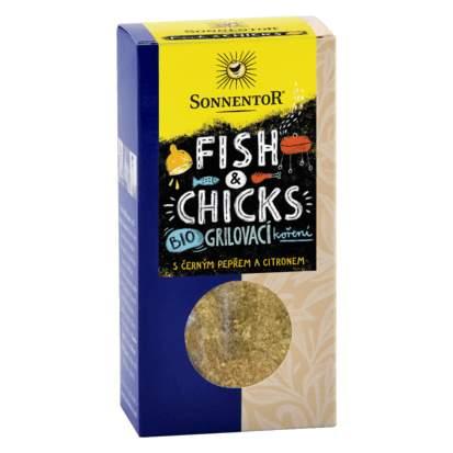 Fish & Chicks - grilovací koření BIO 55g
