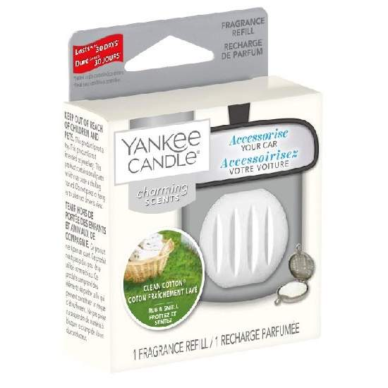 Náplň YANKEE CANDLE Ch.Scents - Clean Cotton