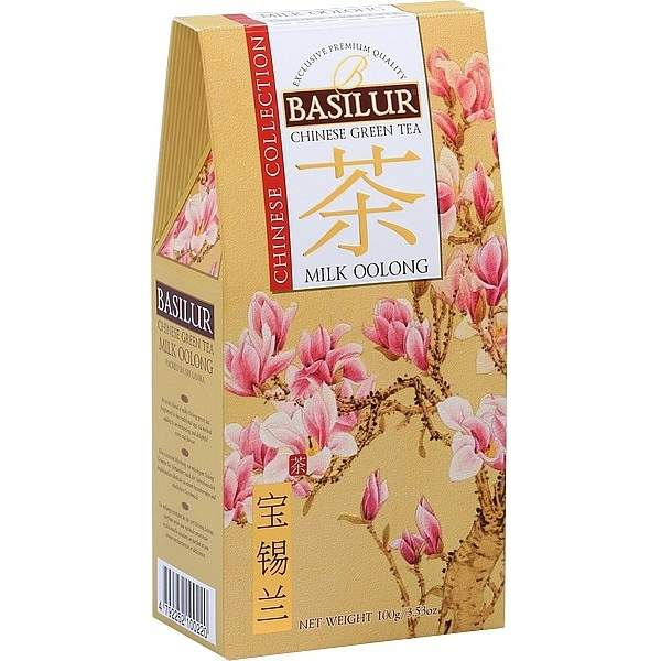 Čaj Basilur Chinese Milk Oolong 100g