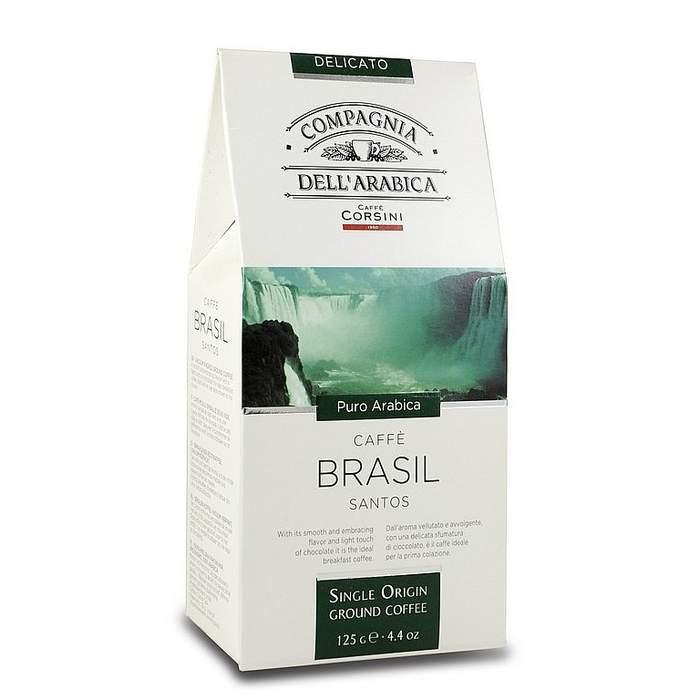 Mletá káva Single Brasil Santos 125g
