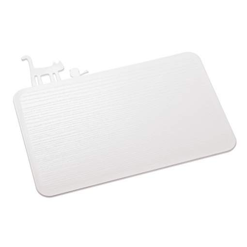 Plastové kuchyňské prkénko PI:P bílé 30cm