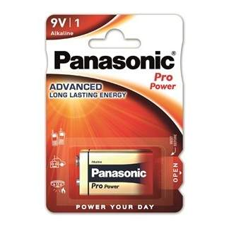 Baterie Panasonic 9V ProPower Gold