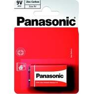 Baterie Panasonic 9V Red Zinc-blistr