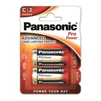 Baterie Panasonic C ProPower Gold 1,5V 2ks