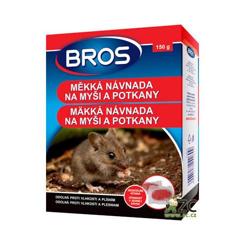 Nástraha měkká na myši, potkany BROS 150g