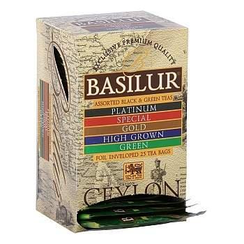 Čaj Basilur Island of Tea Assorted 20x2g a 5x1,5g