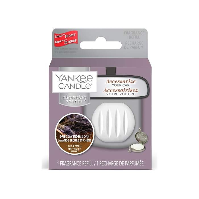 Náplň YANKEE CANDLE Ch.Scents Dried Lavender & Oak