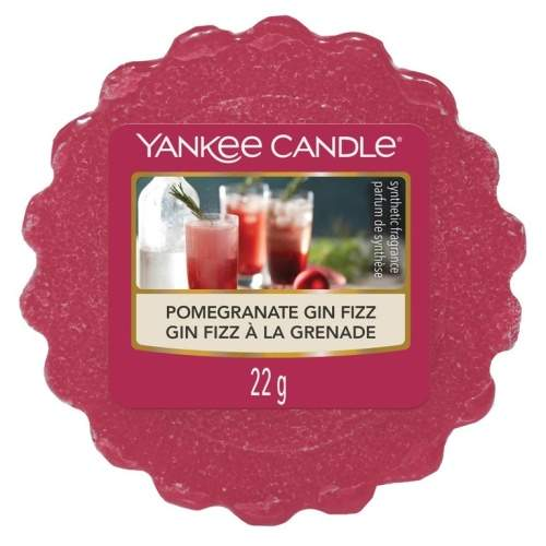 Vosk YANKEE CANDLE 22g Pomegranate Gin Fizz
