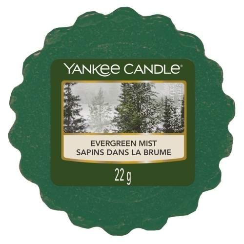 Vosk YANKEE CANDLE 22g Evergreen Mist