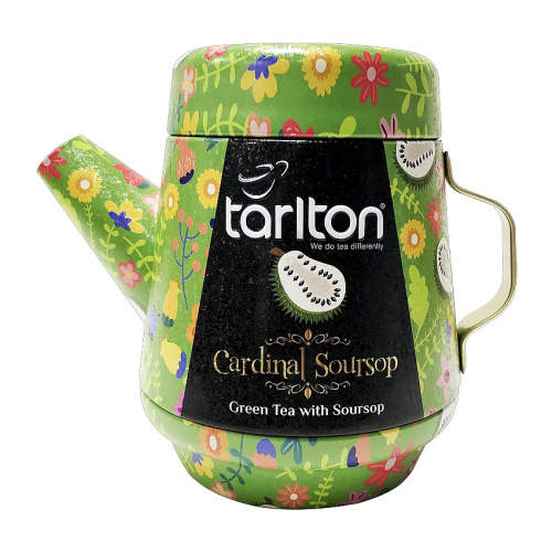 Čaj Tarlton Tea Pot Green Cardinal Soursop 100g