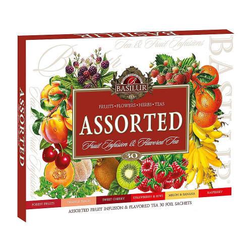 Čaj Basilur Fruit Infusions Assorted 30x2g