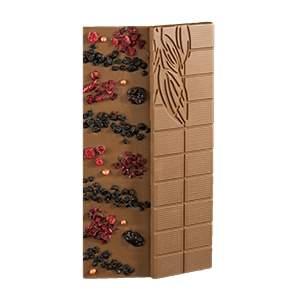 Čokoláda PASSION mléčná - lesní plody 100g