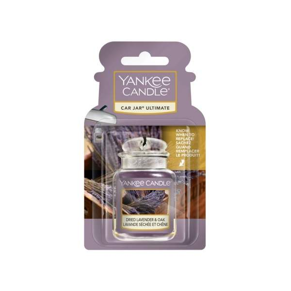 Gelová visačka Yankee Candle Dried Lavender Oak