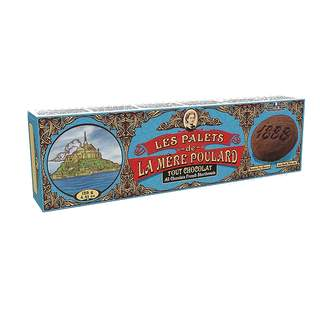 Sušenky All cocolate French shortbread L.M.POULARD 125g