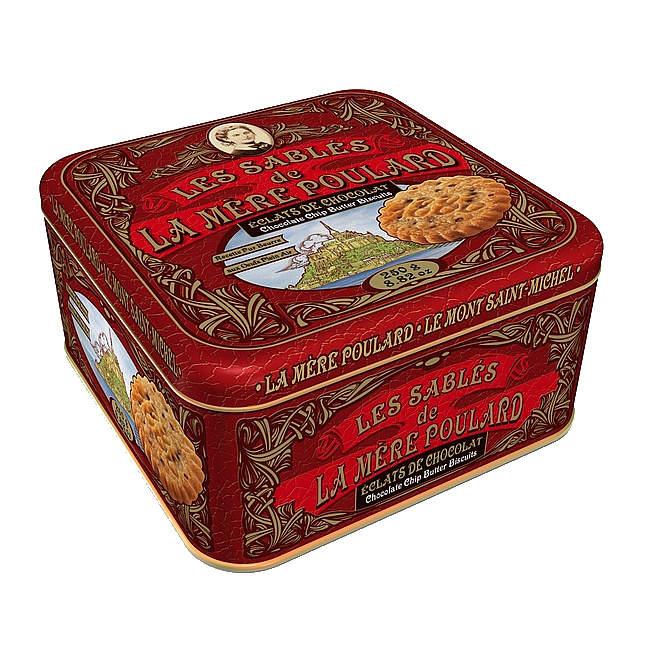 Sušenky Chocolate chips plech LA MÉRE POULARD 250g
