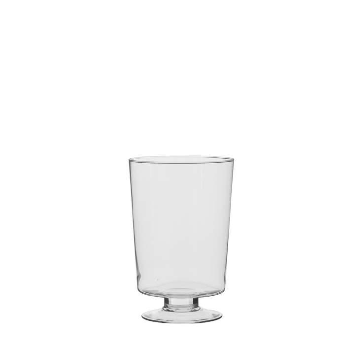 Váza HURRICANE GIGI 23,5cmna noze kónická skleněná