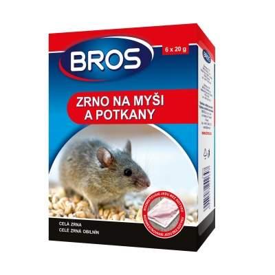 Zrní na myši, potkany BROS 120g