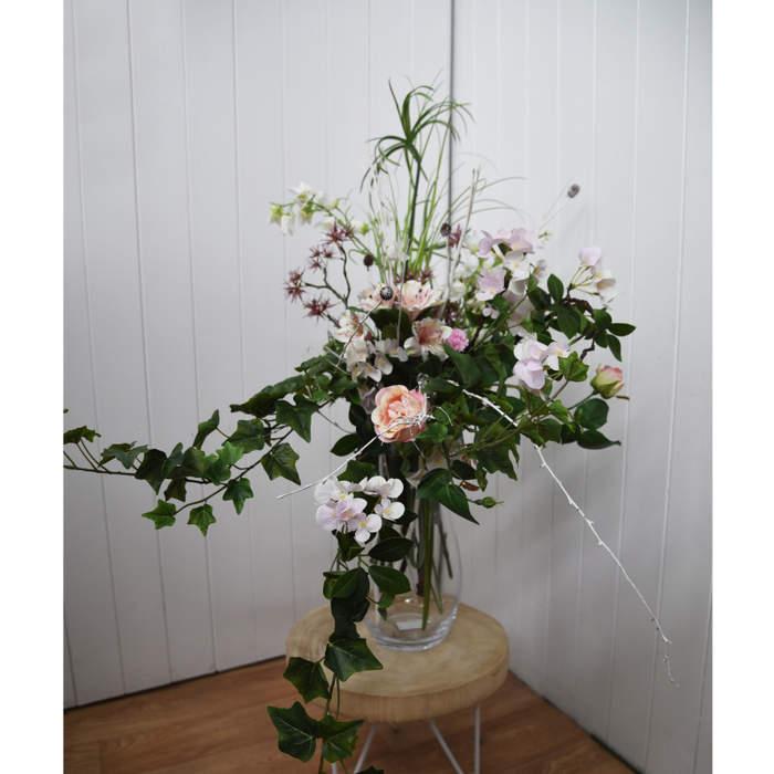 Jemně růžová kytice