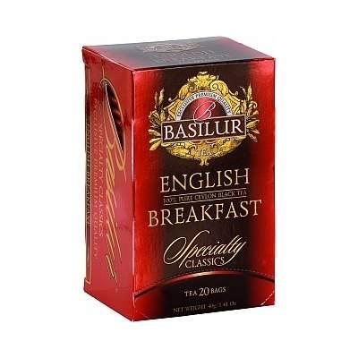 Čaj Basilur Specialty English Breakfast 20x2g