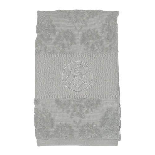 Ručník/osuška BRODERIE bavlna šedá 70x140cm