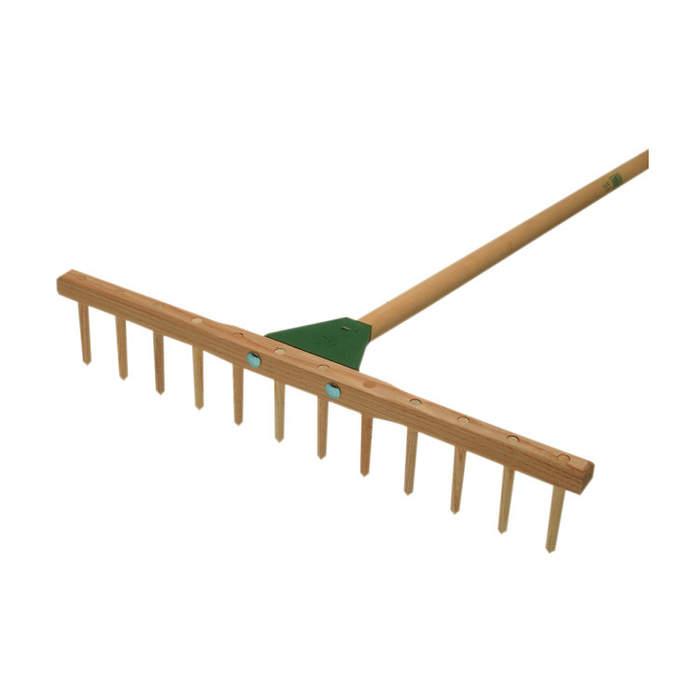 Hrábě 12hrotů dřevo 55cm+násada