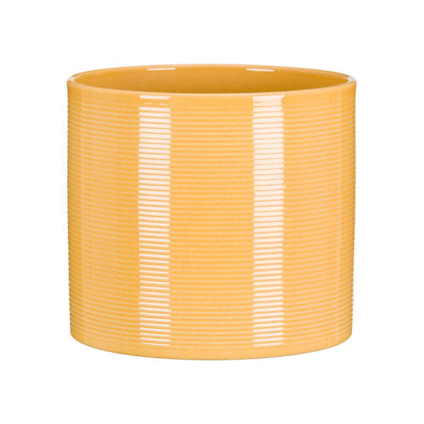 E-shop Obal ZABAIONE 828/19 keramika žlutá 19cm