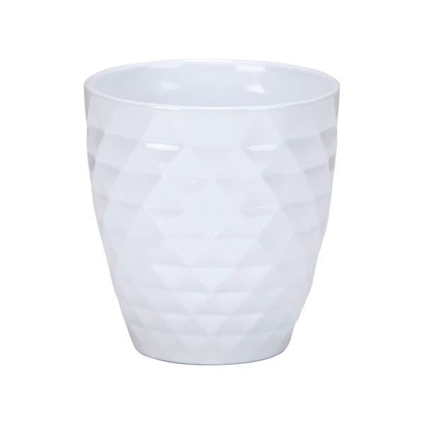 Obal orchidej ALASKA WEISS 632/17 keramika bílá 17cm