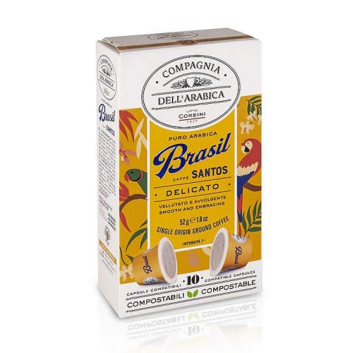 Káva Corsini Brasil Santos kapsle 10ks