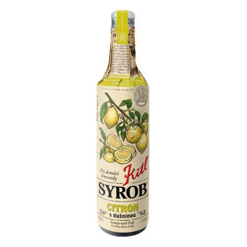 Sirup SYROB citrón 500ml