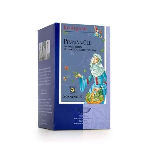 Čaj bylinný BIO Pevná vůle porcovaný 27g